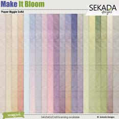 Make It Bloom Paper Biggie Solid