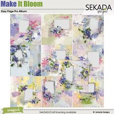 Easy Page Pro Album: Make It Bloom