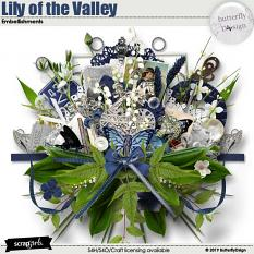 Lily of the Valley Embellishments