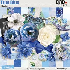 True Blue Collection by DRB Designs | ScrapGirls.com