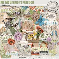 Mr McGregor's Garden Embellishments by On A Whimsical Adventure