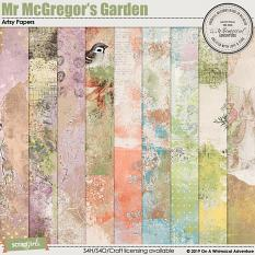 Mr McGregor's Garden Artsy Papers by On A Whimsical Adventure