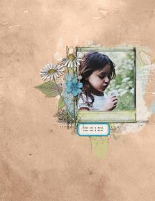 Digital layout using Mr McGregor's Garden Collection Biggie by On A Whimsical Adventure