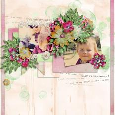Layout using Angel of Mine