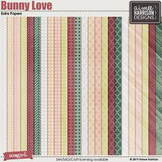 Bunny Love Extra Papers