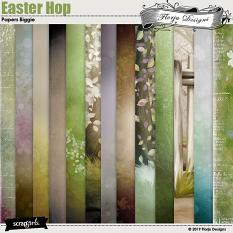 layout using Easter Hop Collection Biggie by Florju Designs