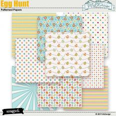 Egg Hunter Patterned Papers