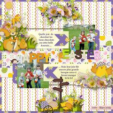 Happy Easter Embellishments  Details
