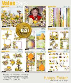 Happy Easter easy Pages Details