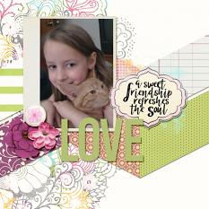 layout by Chere using Spring Sherbet