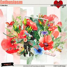ScrapSimple Digital Layout Collection:Enthusiasm