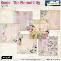 Rome - The eternal city Paper Mini by Aftermidnight Design