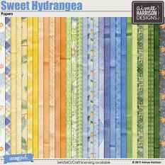 Sweet Hydrangea Papers