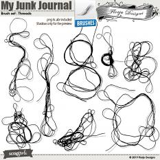 layout using Value Pack : My Junk Journal by Florju Designs