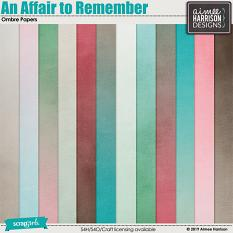 An Affair to Remember Ombre Papers