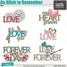 An Affair to Remember Titles