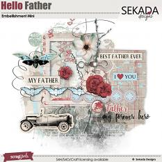 Hello Father Embellishment Mini