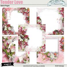 Tender Love Quick pages