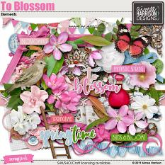 To Blossom Elements