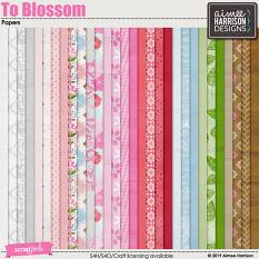 To Blossom Papers