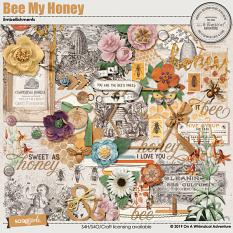Bee My Honey Embellishments by On A Whimsical Adventure