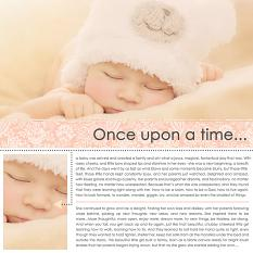 Scrapbook layout uses Storyteller Photo Book and Layout Templates
