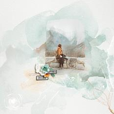 Layout using ScrapSimple Digital Layout Collection:Green Dream