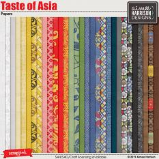 Taste of Asia Papers
