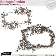 Cottage Garden brushed frames