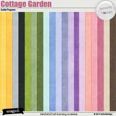 Cottage Garden Solid papers