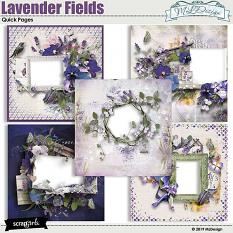 Lavender Fields Easy Pages