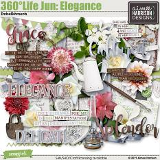 360°Life June: Elegance Embellishments