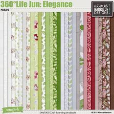 360°Life June: Elegance Papers