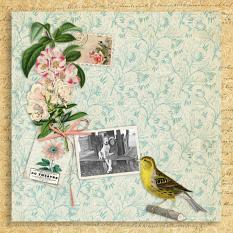 Layout by Marie Orsini using Celebrate summer by Aftermidnight Design