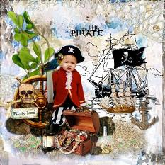 layout using Value Pack : Esprit Pirate by Florju Designs
