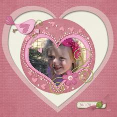 Layout Made With A Mothers Heart Collection By Charly Renay