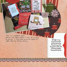 Layout Made With Coffee Shoppe Collection By Charly Renay