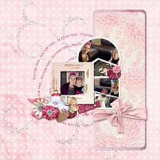 Layout using Tea Party
