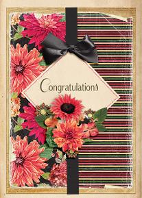 """Congratulations"" Card by Andrea Hutton"