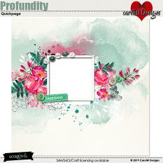ScrapSimple Digital Layout Collection:Profundity