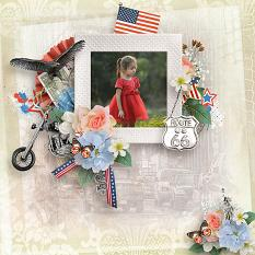 My Americana Easy Pages details