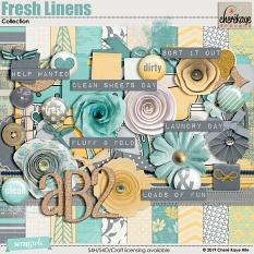 Fresh Linens Collection by Cheré Kaye Designs