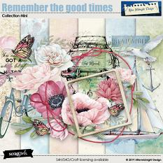 Remember the good times Collection Mini by Aftermidnight Design