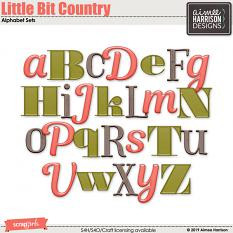 Little Bit Country Alpha Sets