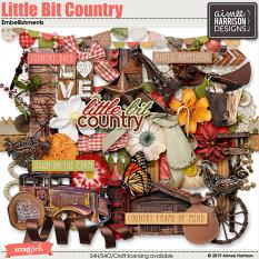 Little Bit Country Embellishments