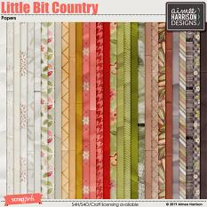 Little Bit Country Papers