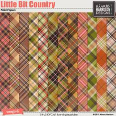 Little Bit Country Plaid Papers