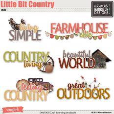 Little Bit Country Titles