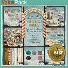 Boardwalk Value Pack by Designs by Helly