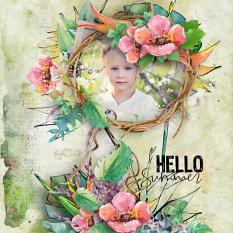 layout using Value Pack : Tropical Dream by Florju designs